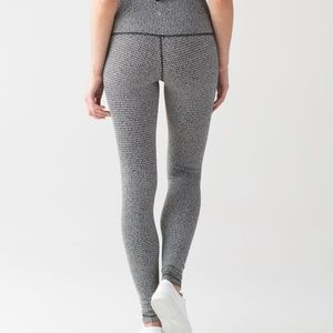 Lululemon High Rise Wunder Under Leggings